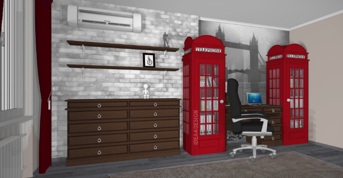 Home office design project