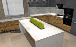 Kitchen island design project