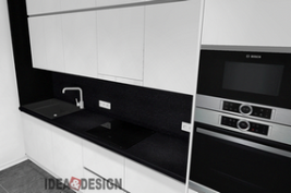 Design project of kitchen furniture in Moscow