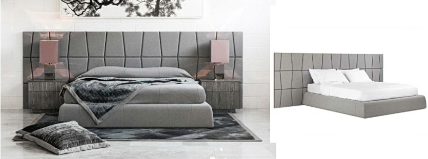 Double bed size 2000 x 1800