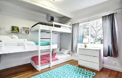 Bunk bed for teenager