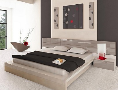 Bed for a large bedroom to order