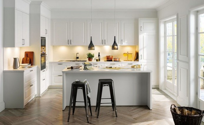 Kitchen design in Moscow