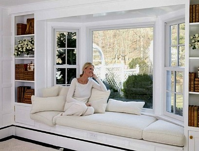 Window Bay window sofa