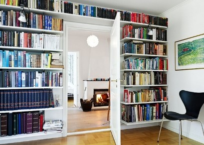 Built-in bookcases to order